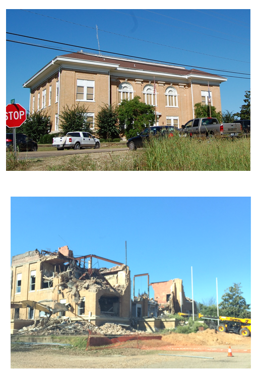 19 Historic Courthouse and Burned-Out Shell