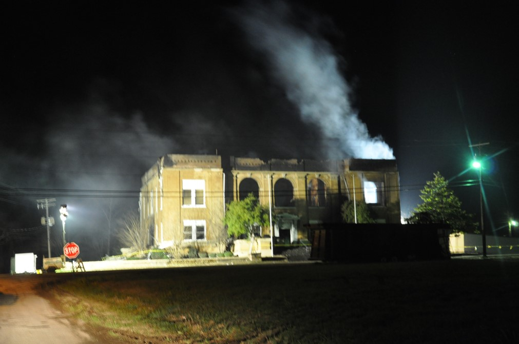 2 Historic Buring of Courthouse