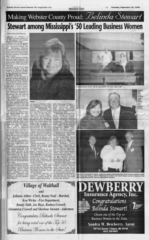 The Webster Progress Times – Making Webster County Proud: Belinda Stewart