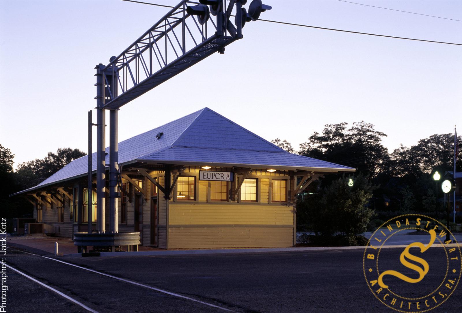 Eupora Depot Restoration