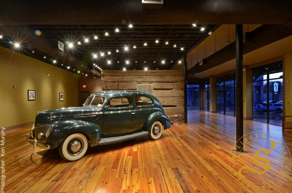 Delta Blues Museum 'Muddy Waters' Addition – Night
