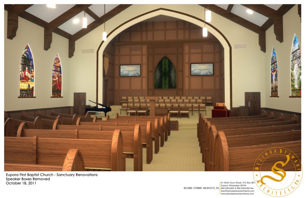 Eupora First Baptist Church Renovation