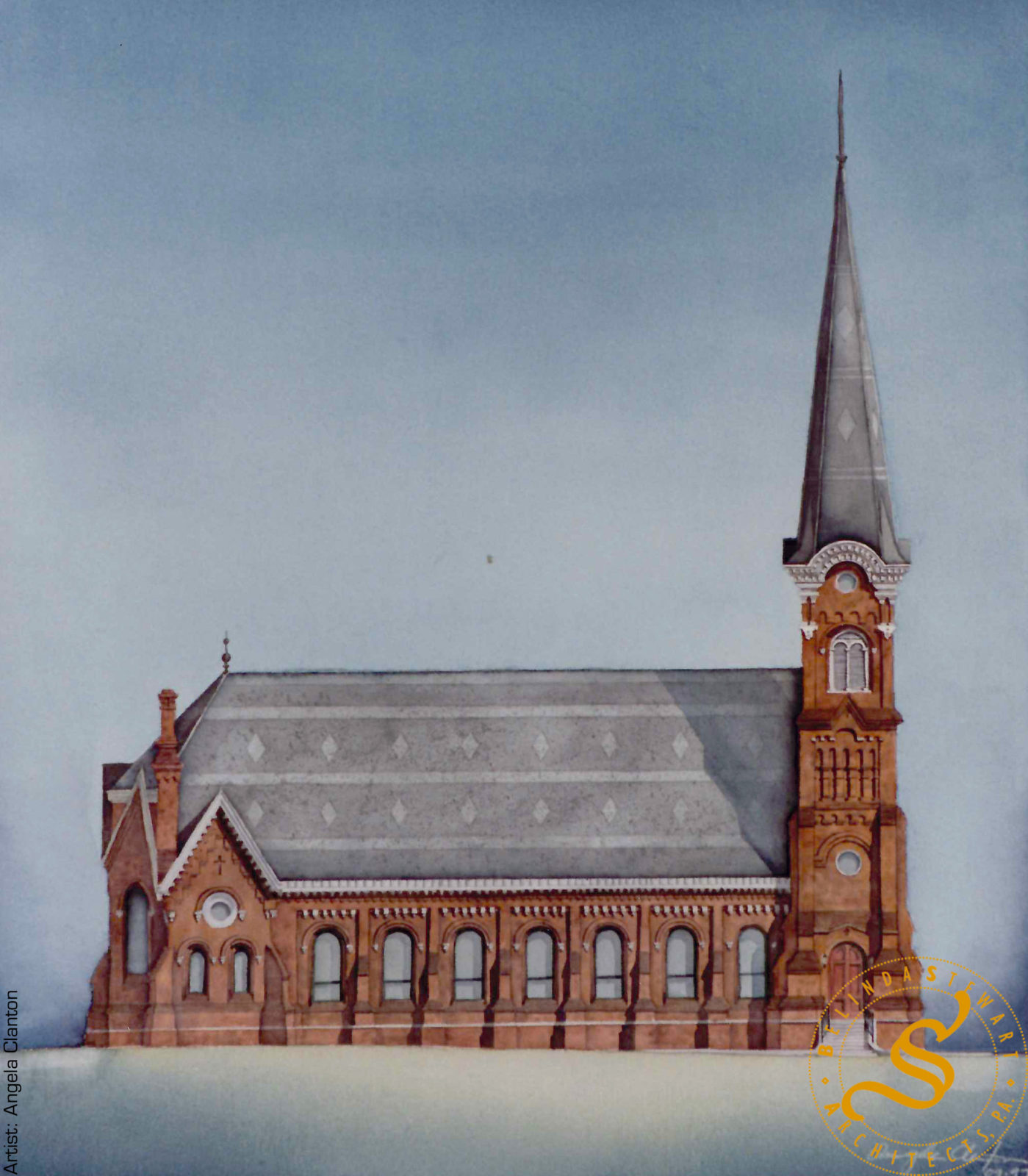 Holy Trinity Episcopal Church – Rendering