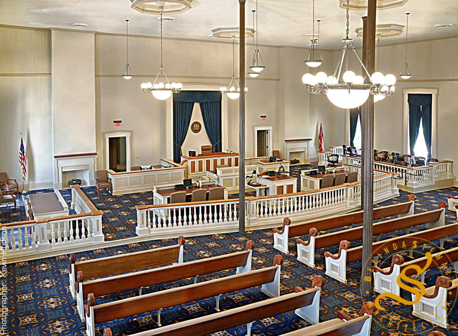 Monroe County Courtroom Renovation & Restoration