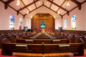 First Baptist Church Sanctuary Renovation
