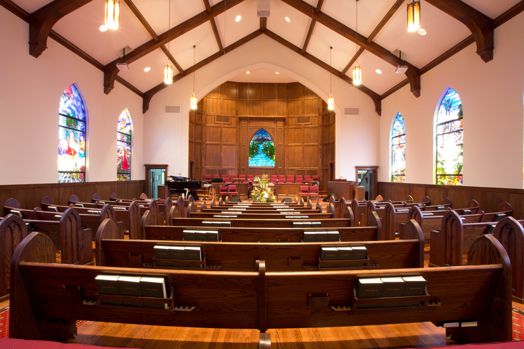 First Baptist Church Sanctuary Renovation