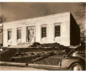 Eupora Post Office Under Construction
