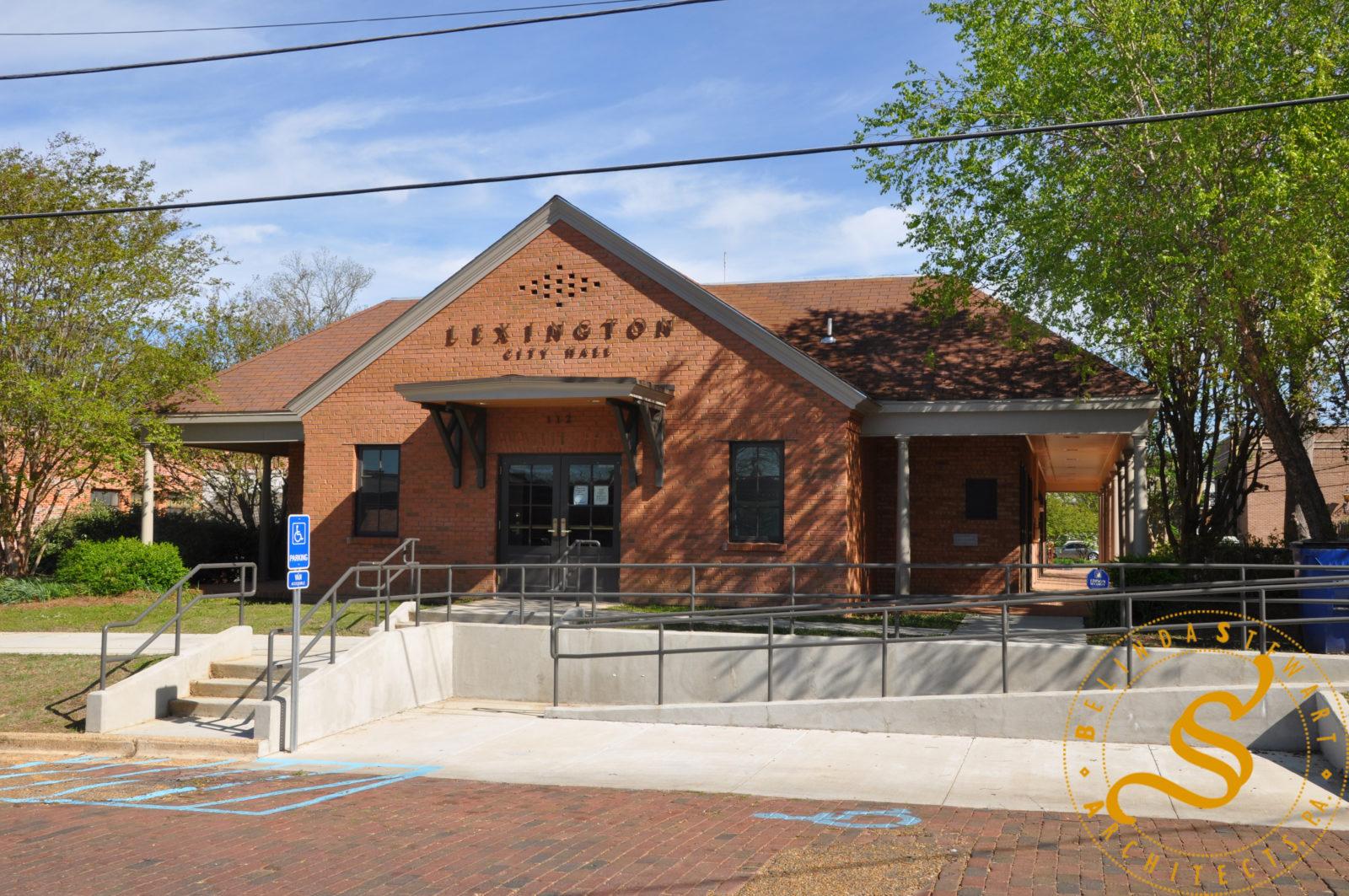 Lexington City Hall - Front Facade (After)