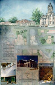 "Claiborne County ""Matt Ross"" Administration Building - Rendering"