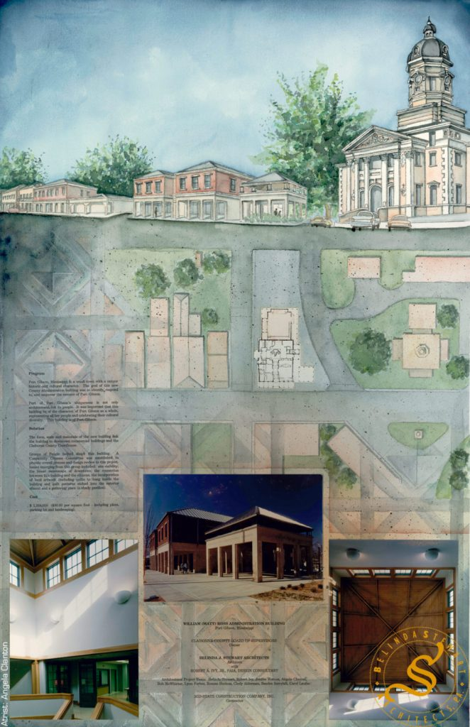"Claiborne County ""Matt Ross"" Administration Building – Rendering"