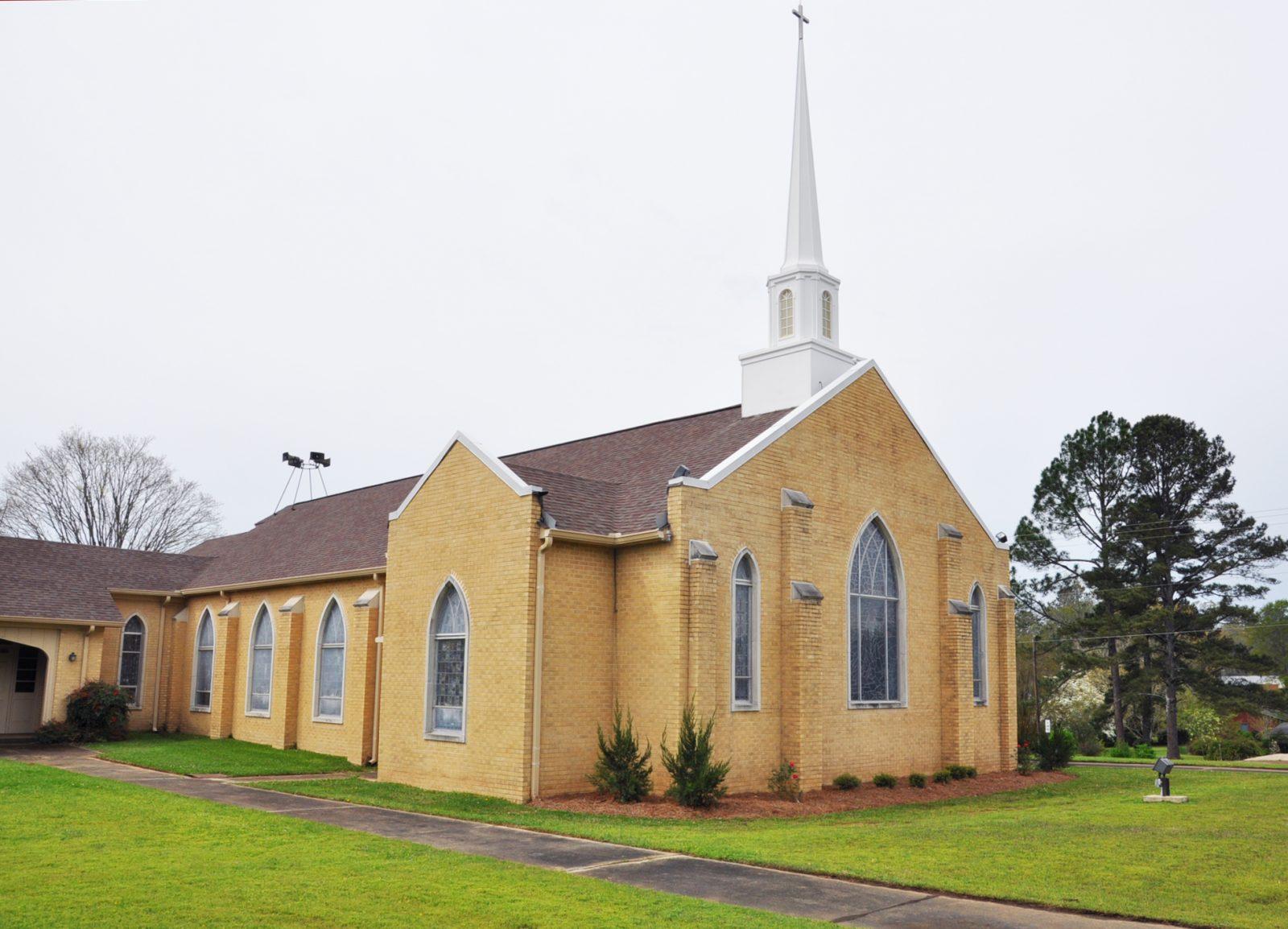 Noxapater United Methodist Church, Envelope and Window Stabilization