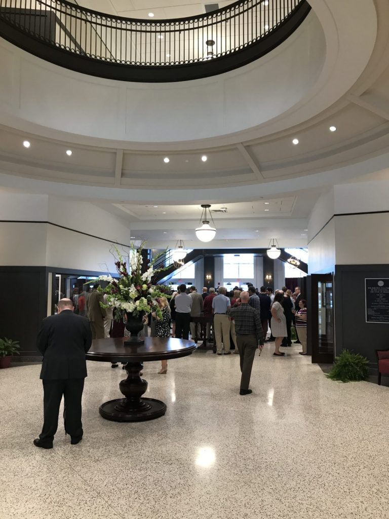Old Main Academic Center Grand Opening