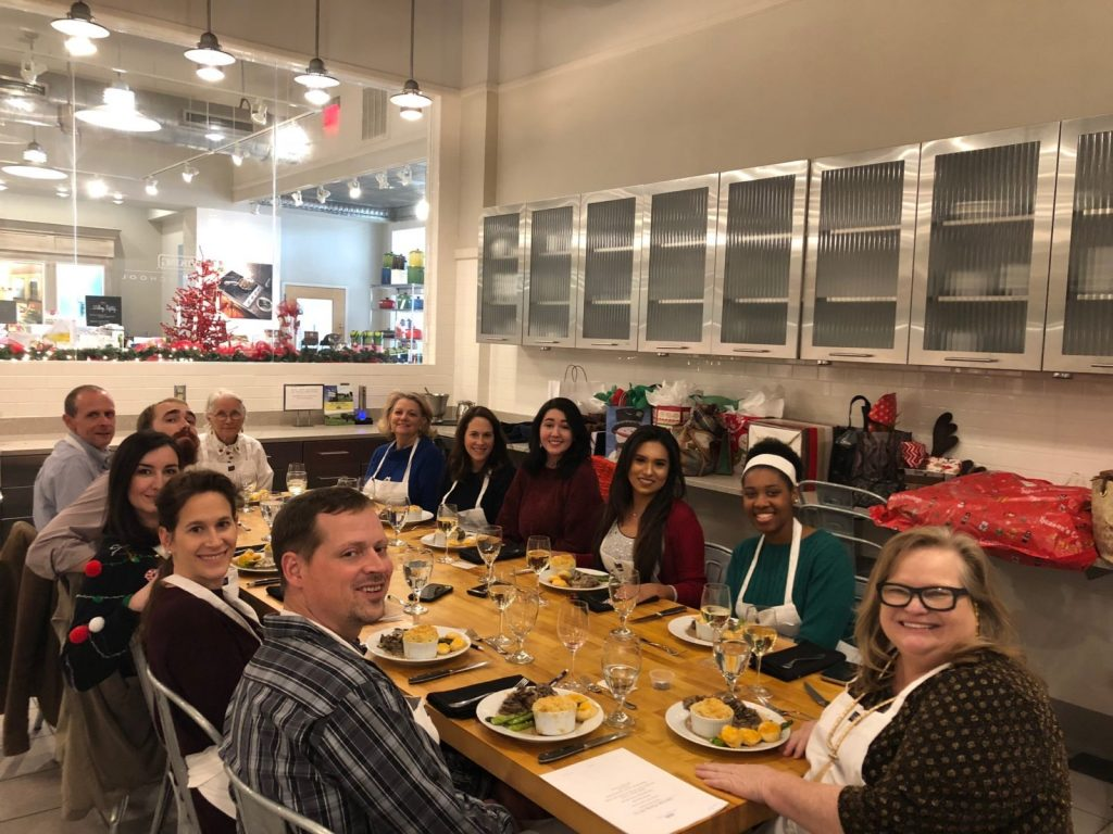 BSA Christmas Outing at the Viking Cooking School