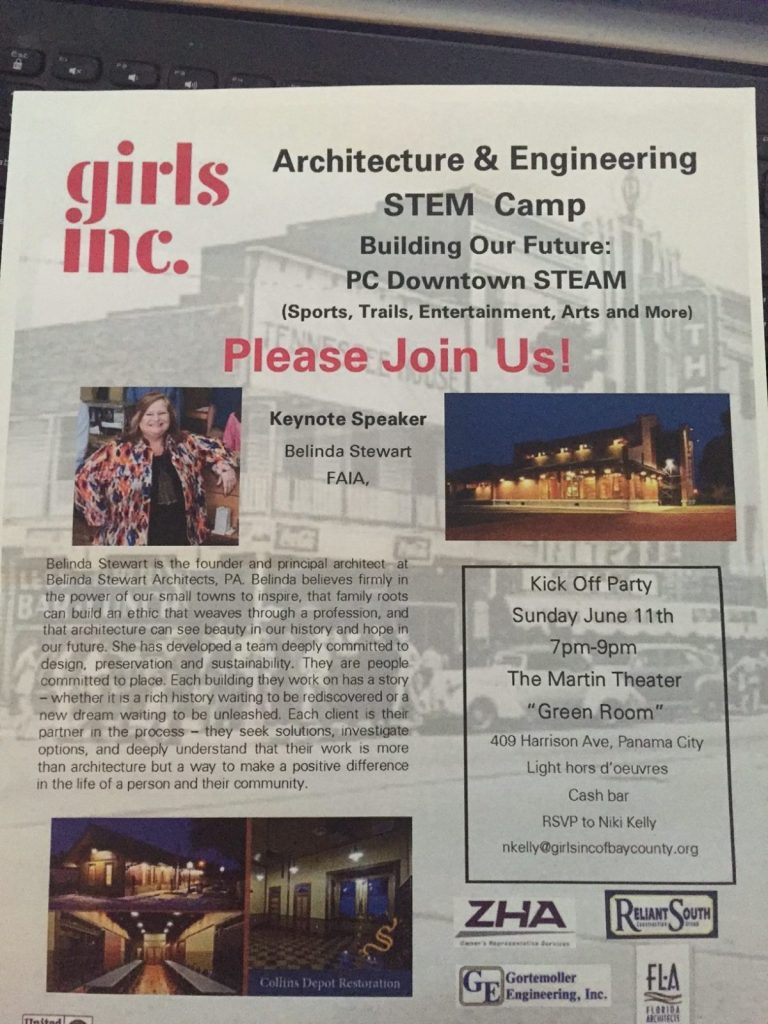 Belinda is keynote speaker for Girls Inc. in Florida