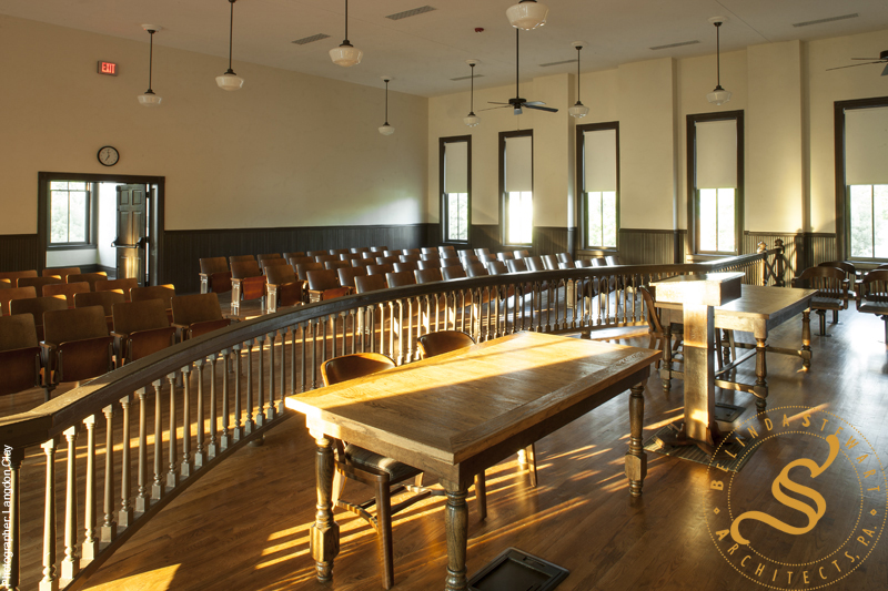 Tallahatchie County Courthouse Restoration Wins AIA Mississippi Merit Award