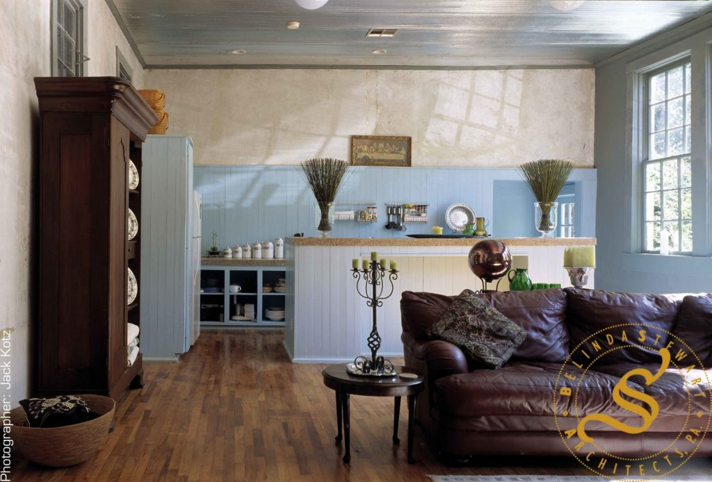 Springhill Schoolhouse – Living Room Kitchen – Jack Kotz