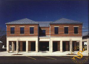 "Claiborne County ""Matt Ross"" Administration Building - Front Facade"