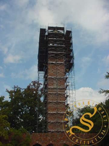 Chapel of Memories Carillon Tower Stabilization & Restoration