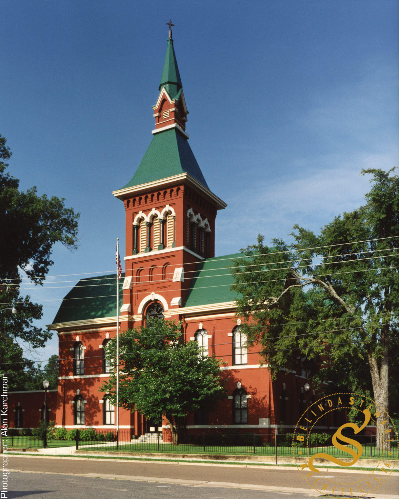 Tate County Courthouse Restoration & Addition - Exterior